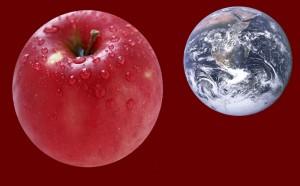 La pomme The Earth
